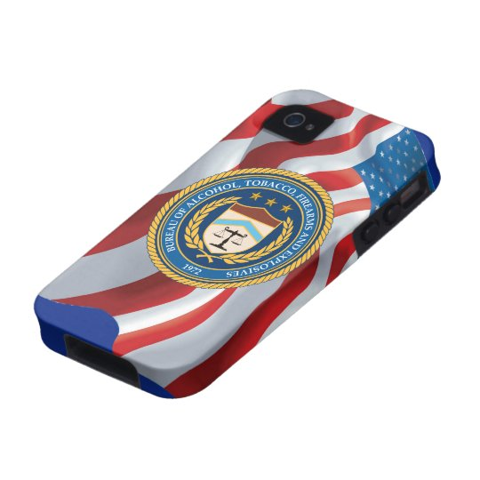 Bureau of Alcohol Tobacco Firearms iPhone 4/4S Cover