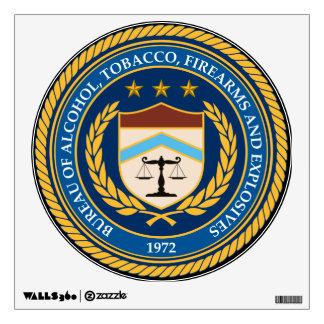 Bureau of  Alcohol Tobacco Firearms Wall Decal