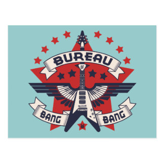 Bureau of Bang Bang Postcard