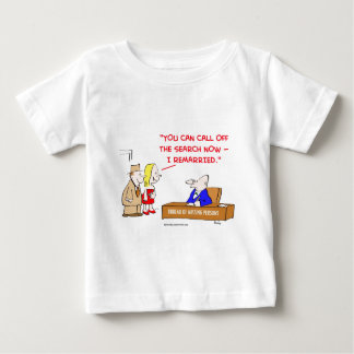 bureau of missing persons remarried baby T-Shirt