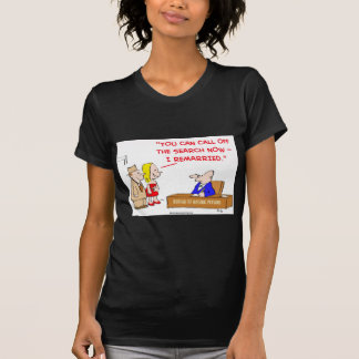 bureau of missing persons remarried T-Shirt