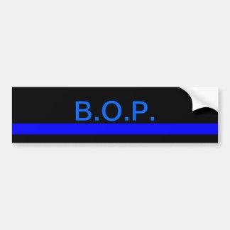 Bureau of Prisons bumper sticker Car Bumper Sticker