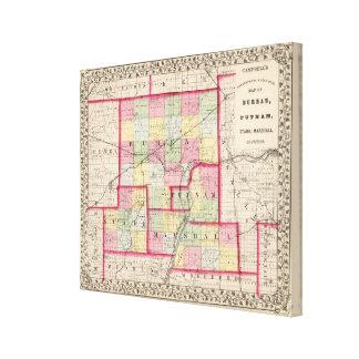 Bureau, Putnam, Stark, Marshall counties Canvas Print