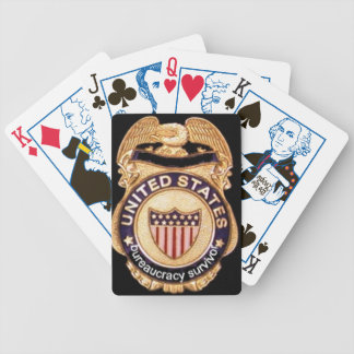 Bureaucracy Survivor Deck Of Cards........... Bicycle Playing Cards