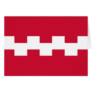 Buren, Netherlands flag Cards