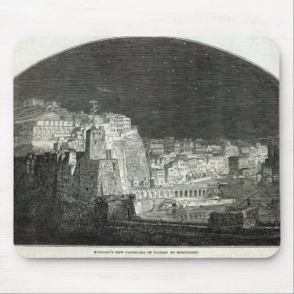 Burford's New Panorama of Naples by Moonlight Mouse Pad