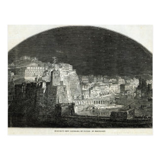 Burford's New Panorama of Naples by Moonlight Postcard