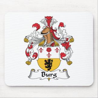 Burg Family Crest Mouse Mat