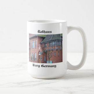 Burg Germany - Rathaus Coffee Mug