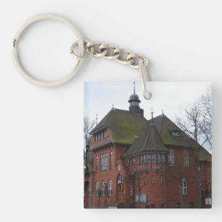 Burg Germany - Rathaus Keychain