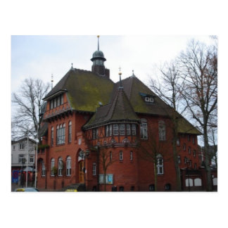 Burg Germany - Rathaus Postcard