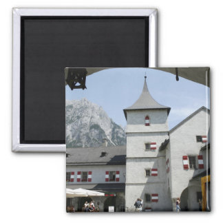 Burg Hohenwerfen Imán Cuadrado