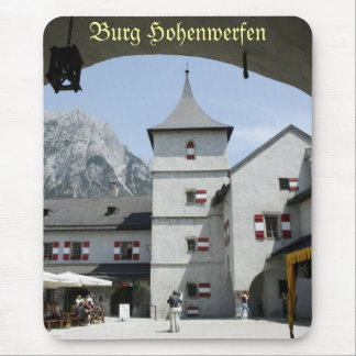 Burg Hohenwerfen Mouse Pad