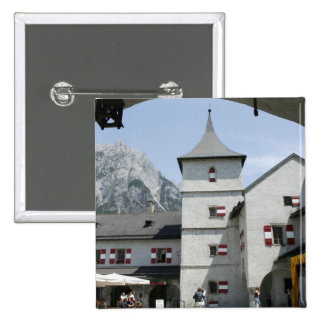 Burg Hohenwerfen Pin Cuadrado