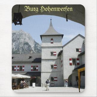 Burg Hohenwerfen Tapete De Ratones