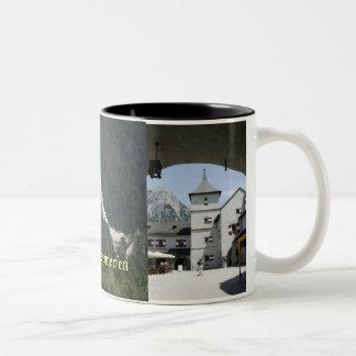 Burg Hohenwerfen Two-Tone Coffee Mug