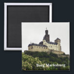 "Burg Marksburg Magnet<br><div class=""desc"">Burg Marksburg,  Germany</div>"