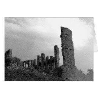 Burg Ohlbrueck, Eifel, Germany Card