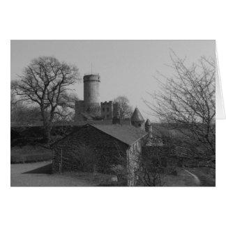 Burg Pyrmont Tarjeta De Felicitación
