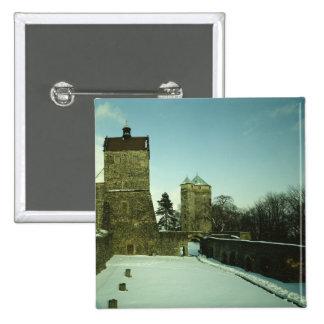 Burg Stolpen, built c.1100 Pinback Button