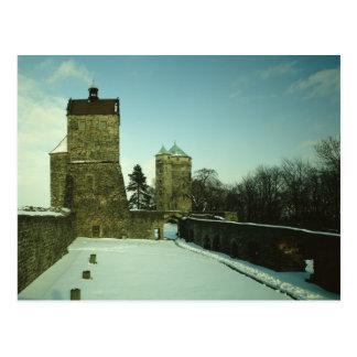 Burg Stolpen, built c.1100 Postcard
