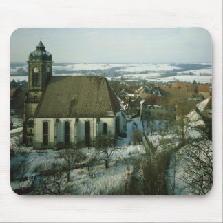 Burg Stolpen, built in c.1100 Mouse Pad