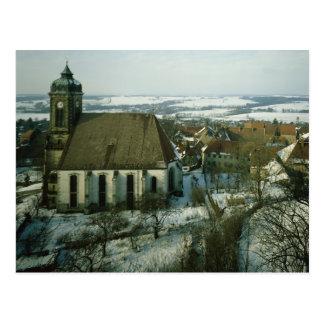 Burg Stolpen, built in c.1100 Postcard