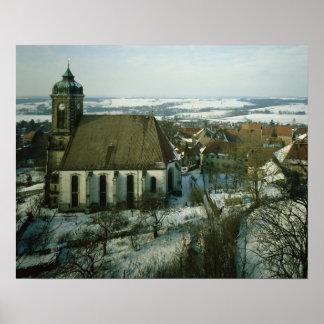 Burg Stolpen, built in c.1100 Poster