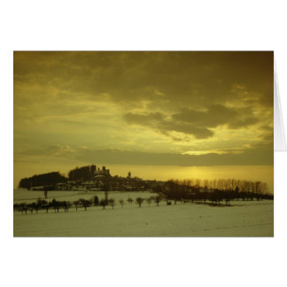 Burg Stolpen, construido en c.1100 Tarjeta De Felicitación
