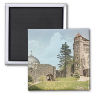 Burg Stolpen, Cosel Tower 2 Inch Square Magnet