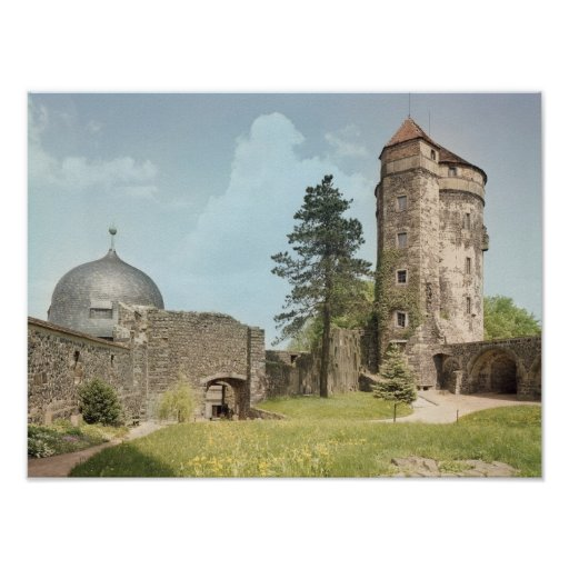Burg Stolpen, Cosel Tower Poster