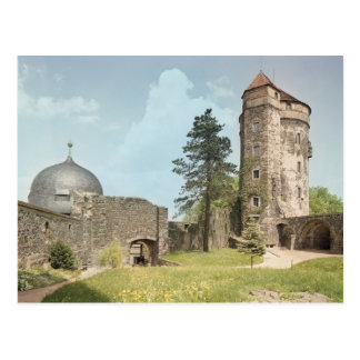 Burg Stolpen, torre de Cosel Tarjeta Postal