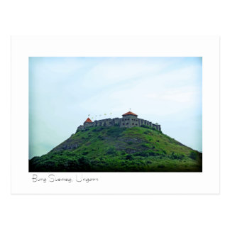 Burg Suemeg, Ungarn Postkarte Postal