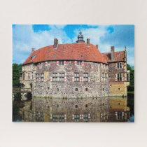 Burg Vischering Castle Germany. Jigsaw Puzzle