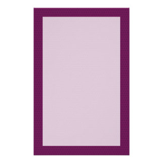 Burgandy Cathedral Arch Stationery