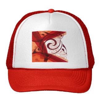 Burgandy-Floral-Turtle Hats