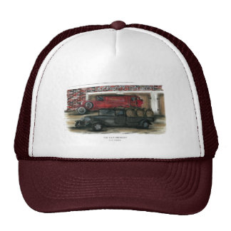 Burgandy Hat - The Old Brewery