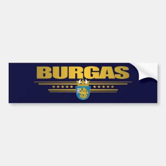 Burgas COA Car Bumper Sticker
