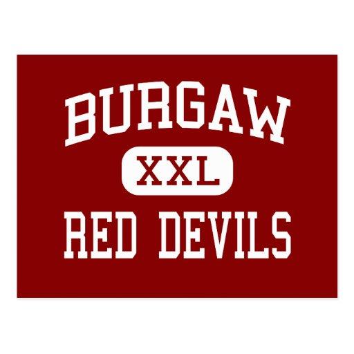 Burgaw - Red Devils - Middle - Burgaw Postcard