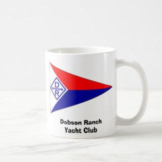 Burgee Mug, Dobson Ranch Yacht Club Classic White Coffee Mug