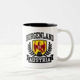 Burgenland Austria Two-Tone Coffee Mug