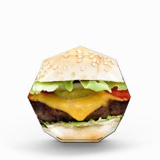 burger acrylic award