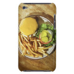 Burger and french fries barely there iPod covers