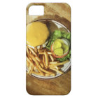 Burger and french fries iPhone SE/5/5s case