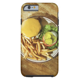 Burger and french fries tough iPhone 6 case