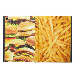 Burger and fried case for iPad air