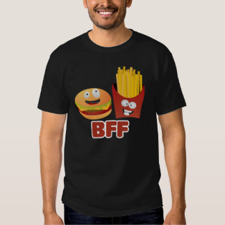 Burger And Fries Best Friends Forever Shirt