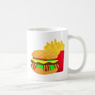 Burger and Fries Coffee Mug