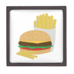 Burger and Fries Premium Jewelry Boxes