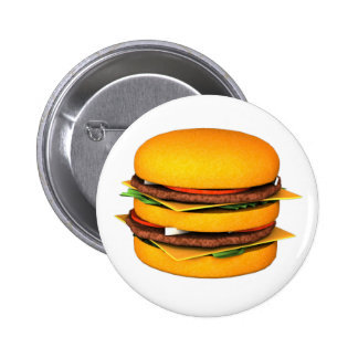 Burger badge button